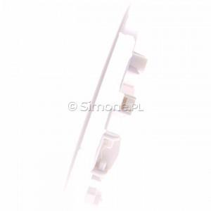 Simon 54 05505-30 - Obudowa głośnika 5 (w zestawie uchwyty do płyt gipsowo-kartonowych)  biały - Podgląd zdjęcia 360st. nr 6
