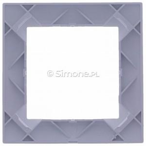Simon 15 1501610-030 - Ramka pojedyncza - Biały - Podgląd zdjęcia 360st. nr 9