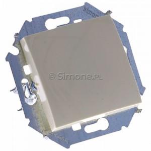 Simon 15 1591101B-031 - Łącznik pojedynczy do wersji IP44 - Beżowy - Podgląd zdjęcia 360st. nr 1