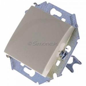 Simon 15 1591101B-031 - Łącznik pojedynczy do wersji IP44 - Beżowy - Podgląd zdjęcia 360st. nr 7