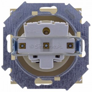 Simon 15 1591940B-031A - Gniazdo hermetyczne pojedyncze do wersji IP44 z bolcem uziemiającym i klapką transparentną - Beżowy - Podgląd zdjęcia 360st. nr 9