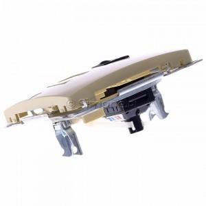 Simon Basic BM61.01/12 - Gniazdo komputerowe pojedyncze 1xRJ45 kat.6 z przesłoną przeciwkurzową - Beżowy - Podgląd zdjęcia 360st. nr 5