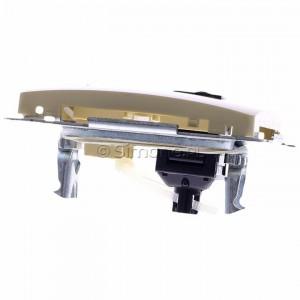 Simon Basic BM61.01/12 - Gniazdo komputerowe pojedyncze 1xRJ45 kat.6 z przesłoną przeciwkurzową - Beżowy - Podgląd zdjęcia 360st. nr 4