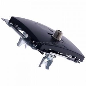 Simon Basic BMAF1.01/28 - Gniazdo antenowe SAT typu F pojedyncze - Grafit Mat. - Podgląd zdjęcia 360st. nr 3