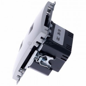 Simon Basic BMC2USB.01/11 - Podwójna ładowarka USB - Biały - Podgląd zdjęcia 360st. nr 6
