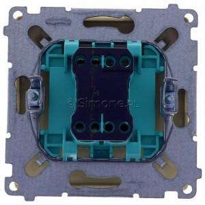 Simon Basic BMD1A.01/12 - Przycisk zwierny dzwonek 16A - Beżowy - Podgląd zdjęcia 360st. nr 9