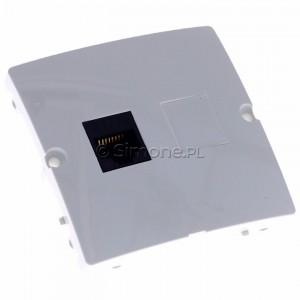 Simon Basic BMF51.02/11 - Gniazdo komputerowe pojedyncze 1xRJ45 kat.5e - Biały - Podgląd zdjęcia 360st. nr 1