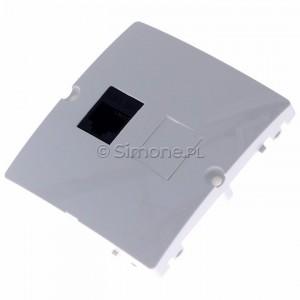 Simon Basic BMF51.02/11 - Gniazdo komputerowe pojedyncze 1xRJ45 kat.5e - Biały - Podgląd zdjęcia 360st. nr 7