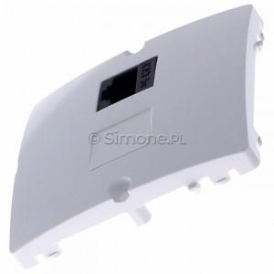 Simon Basic BMF51.02/11 - Gniazdo komputerowe pojedyncze 1xRJ45 kat.5e - Biały - Podgląd zdjęcia 360st. nr 6