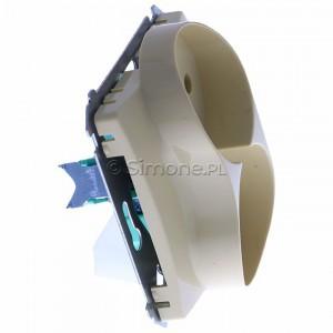 Simon Basic BMG2M.01/12 - Gniazdo podwójne bez bolca uziemiającego - Beżowy - Podgląd zdjęcia 360st. nr 2