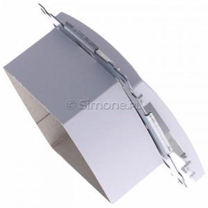 Simon Basic BMGHRJ45.01/11 - Gniazdo HDMI pojedyncze + Gniazdo komputerowe kat.6 - Biały - Podgląd zdjęcia 360st. nr 3