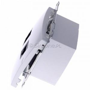 Simon Basic BMGHRJ45.01/11 - Gniazdo HDMI pojedyncze + Gniazdo komputerowe kat.6 - Biały - Podgląd zdjęcia 360st. nr 6