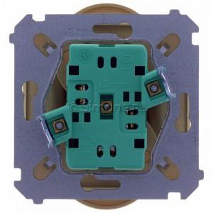 Simon Basic BMGZ2M.01/12 - Gniazdo podwójne z bolcem uziemiającym - Beżowy - Podgląd zdjęcia 360st. nr 9