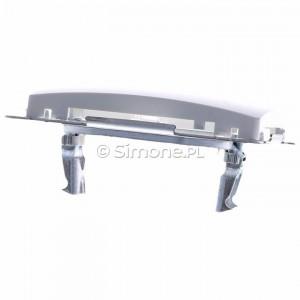 Simon Basic BMPT/11 - Pokrywa podwójna płaska do wkładów gniazd teleinformatycznych RJ11/RJ12/RJ45 typu Keystone - Biały - Podgląd zdjęcia 360st. nr 4