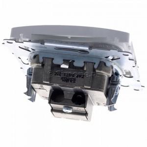 Simon Basic BMZAR-SAT1.3/1.01/11 - Gniazdo antenowe RTV-SAT końcowe lub zakończeniowe w szeregu gniazd przelotowych - Biały - Podgląd zdjęcia 360st. nr 4