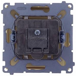 Simon Basic BMZAR-SAT1.3/1.01/12 - Gniazdo antenowe RTV-SAT końcowe lub zakończeniowe w szeregu gniazd przelotowych - Beżowy - Podgląd zdjęcia 360st. nr 9