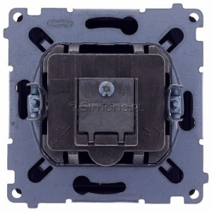 Simon Basic BMZAR-SAT1.3/1.01/28 - Gniazdo antenowe RTV-SAT końcowe lub zakończeniowe w szeregu gniazd przelotowych - Grafit Mat. - Podgląd zdjęcia 360st. nr 9
