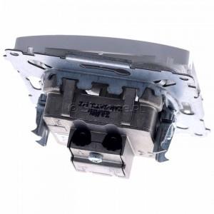 Simon Basic BMZAR+SAT3.1-P2.01/11 - Gniazdo antenowe RTV-SAT-SAT końcowe z dwoma wyjściami SAT - Biały - Podgląd zdjęcia 360st. nr 4