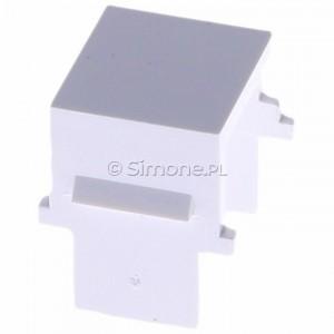 Simon 54 BWB/11 - Zaślepka otworu wtyku RJ45/RJ12 do pokrywy gniazda teleinformatycznego - Biały - Podgląd zdjęcia 360st. nr 2