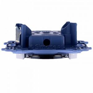 Simon 10 CG2M.01/11 - Gniazdo wtyczkowe podwójne bez uziemienia 16A - Biały - Podgląd zdjęcia 360st. nr 8