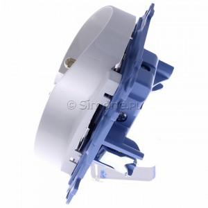 Simon 10 CGZ2M.01/11 - Gniazdo wtyczkowe podwójne z uziemieniem 16A - Biały - Podgląd zdjęcia 360st. nr 6