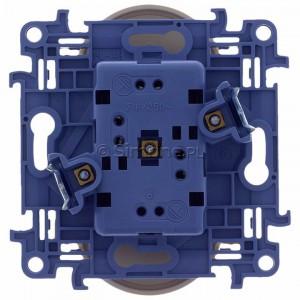Simon 10 CGZ2M.01/41 - Gniazdo wtyczkowe podwójne z uziemieniem 16A - Kremowy - Podgląd zdjęcia 360st. nr 9