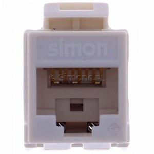 Simon 54 CJ545U - Wkład gniazda komputerowego RJ45 kat. 5e UTP (nieekranowany) S-Connect - Podgląd zdjęcia 360st. nr 8