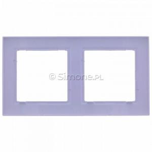Simon 10 CR2/11 - Ramka podwójna - Biały - Podgląd zdjęcia 360st. nr 9