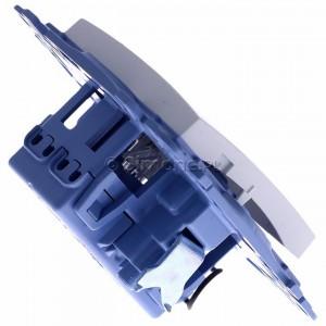 Simon 10 CW7L.01/11 - Łącznik krzyżowy z podświetleniem LED 10A - Biały - Podgląd zdjęcia 360st. nr 3