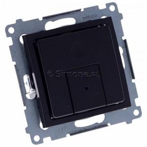 Simon 54 D75310.01/48 - Ściemniacz dwu przyciskowy 40-500W - Antracyt - Podgląd zdjęcia 360st. nr 1