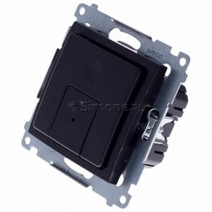 Simon 54 D75310.01/48 - Ściemniacz dwu przyciskowy 40-500W - Antracyt - Podgląd zdjęcia 360st. nr 7