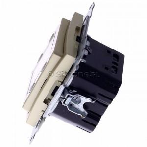Simon 54 D75817.01/44 - Termostat elektroniczny z programatorem tygodniowym, wyświetlaczem LCD i wewnętrznym czujnikiem temperatury - Złoty Mat - Podgląd zdjęcia 360st. nr 6