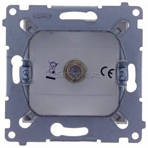 Simon 54 DASF1.01/11 - Gniazdo antenowe SAT typu F pojedyncze - Biały - Podgląd zdjęcia 360st. nr 9