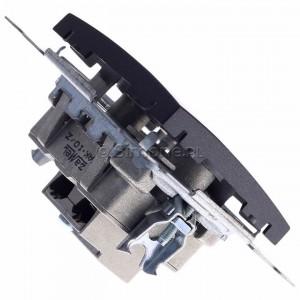 Simon 54 DAZ.01/48 - Gniazdo antenowe R-TV zakończeniowe do gniazd przelotowych - Antracyt - Podgląd zdjęcia 360st. nr 3