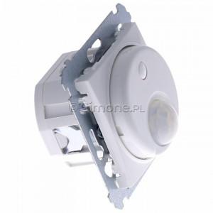 Simon 54 DCR10P.01/11 - Łącznik z czujnikiem ruchu z możliwością manualnego załączenia - Biały - Podgląd zdjęcia 360st. nr 2