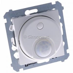 Simon 54 DCR10P.01/11 - Łącznik z czujnikiem ruchu z możliwością manualnego załączenia - Biały - Podgląd zdjęcia 360st. nr 1