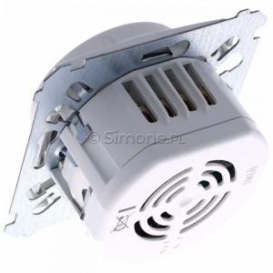 Simon 54 DCR10P.01/11 - Łącznik z czujnikiem ruchu z możliwością manualnego załączenia - Biały - Podgląd zdjęcia 360st. nr 5