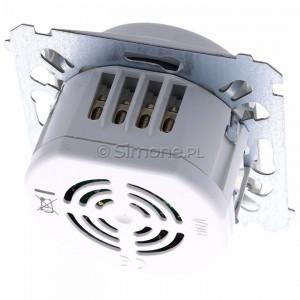 Simon 54 DCR10P.01/11 - Łącznik z czujnikiem ruchu z możliwością manualnego załączenia - Biały - Podgląd zdjęcia 360st. nr 4