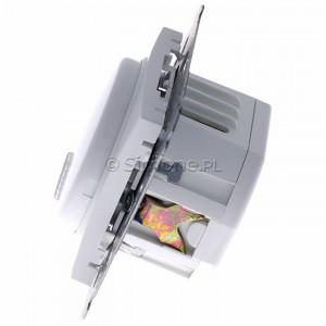 Simon 54 DDS1.01/11 - Dzwonek elektroniczny - Biały - Podgląd zdjęcia 360st. nr 6