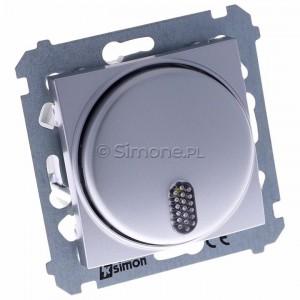 Simon 54 DDS1.01/43 - Dzwonek elektroniczny - Srebrny Mat - Podgląd zdjęcia 360st. nr 1