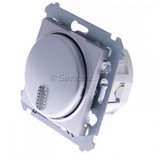 Simon 54 DDS1.01/43 - Dzwonek elektroniczny - Srebrny Mat - Podgląd zdjęcia 360st. nr 7