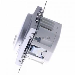 Simon 54 DDS1.01/43 - Dzwonek elektroniczny - Srebrny Mat - Podgląd zdjęcia 360st. nr 6