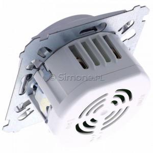 Simon 54 DDS1.01/43 - Dzwonek elektroniczny - Srebrny Mat - Podgląd zdjęcia 360st. nr 5