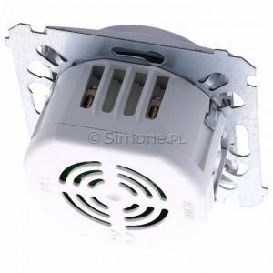 Simon 54 DDS1.01/43 - Dzwonek elektroniczny - Srebrny Mat - Podgląd zdjęcia 360st. nr 4