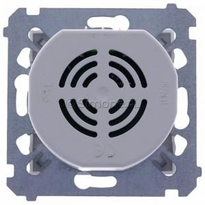 Simon 54 DDS1.01/43 - Dzwonek elektroniczny - Srebrny Mat - Podgląd zdjęcia 360st. nr 9