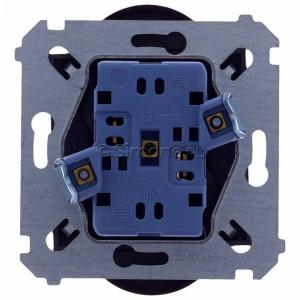 Simon 54 DG2MZ.01/48 - Gniazdo podwójne bez bolca uziemiającego z przesłoną torów prądowych - Antracyt - Podgląd zdjęcia 360st. nr 9