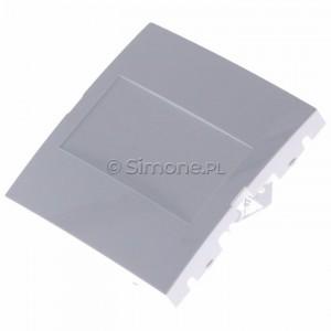 Simon 54 DP/11 - Zaślepka ramki bez mostka - Biały - Podgląd zdjęcia 360st. nr 7