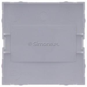 Simon 54 DP/11 - Zaślepka ramki bez mostka - Biały - Podgląd zdjęcia 360st. nr 9