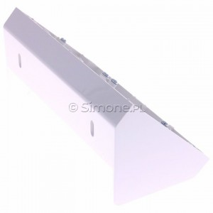 Simon 54 DPNR2/11 - Puszka natynkowa narożna - Biały - Podgląd zdjęcia 360st. nr 3