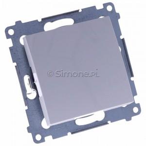 Simon 54 DPR1.01/11 - Przycisk rozwierny pojedynczy - Biały - Podgląd zdjęcia 360st. nr 1